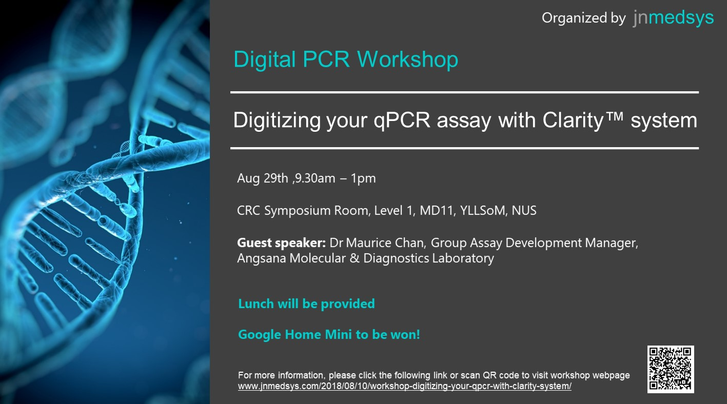 Workshop: Digitizing your qPCR assay with Clarity™ system – JN Medsys